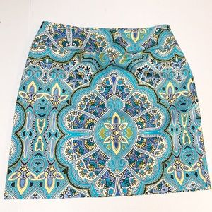 """""""East 5th"""" Unique Abstract Skirt"""
